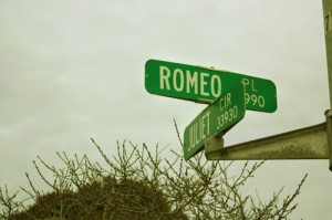 romeo and juliet road