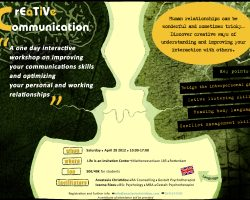 Creative Communication workshop, 28th of April 2012